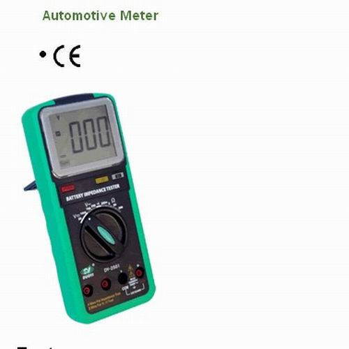 Battery Impedance Tester : Automotive battery impedance tester