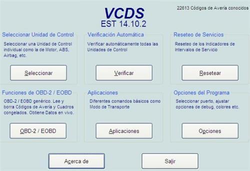 VCDS/Vagcom Spanish 14 10 2 Long Coding,14 10 2,vcds,vagcom